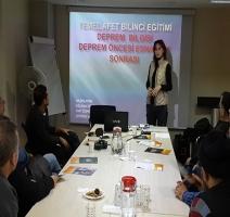 Temel Afet Bilinçlendirme Eğitimi