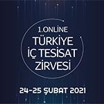 1.Online Türkiye İç Tesisat Zirvesi